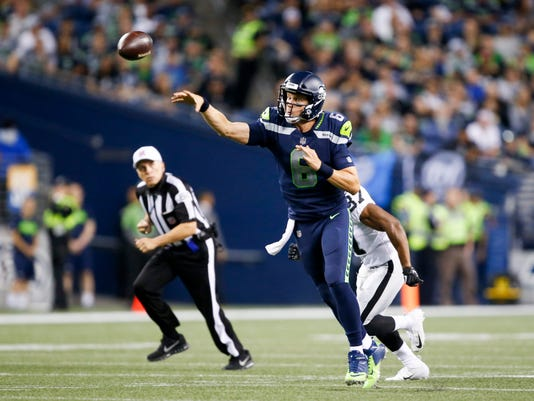 NFL: Oakland Raiders at Seattle Seahawks