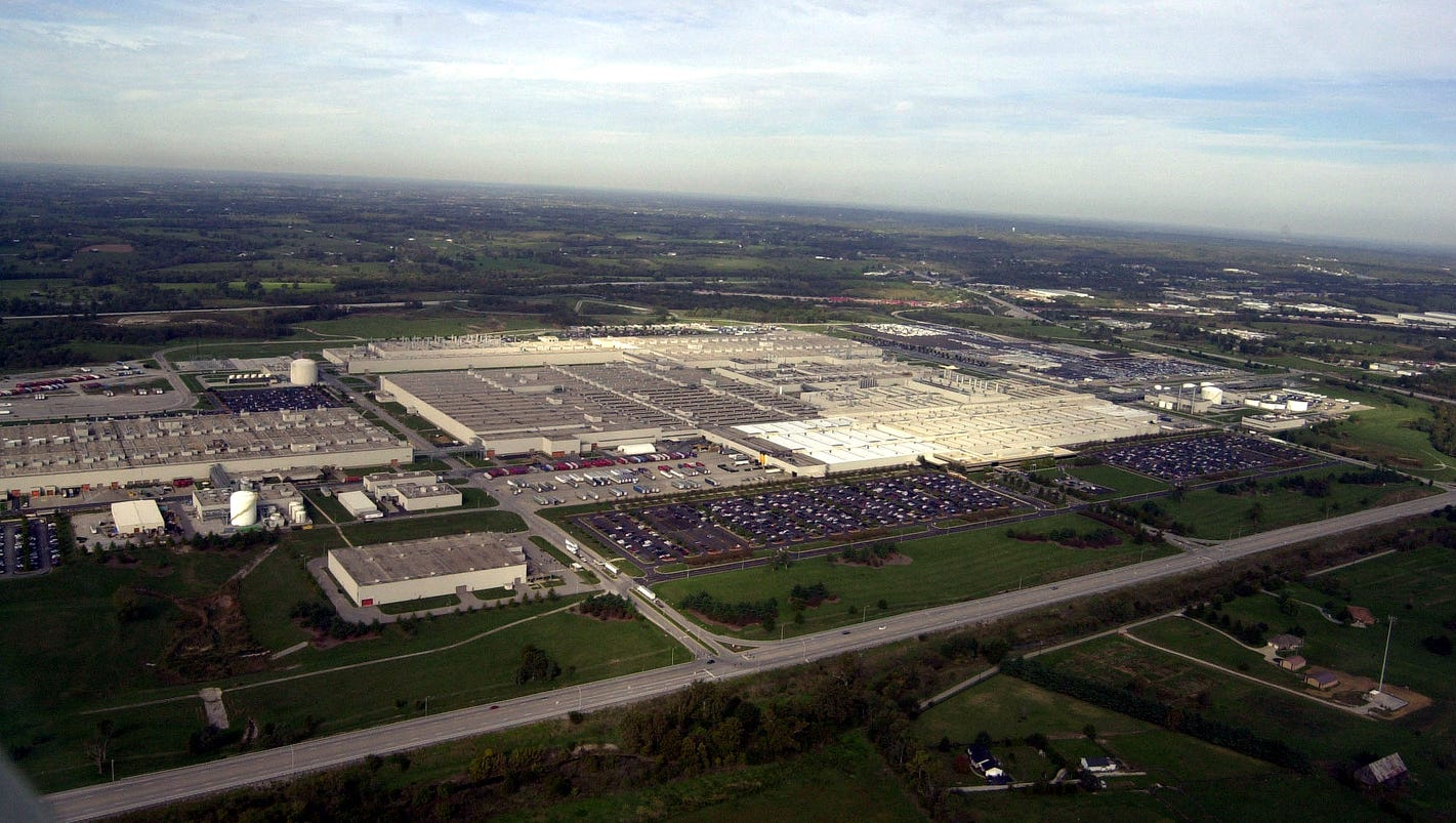 Toyota Plants In Usa >> Toyota bets on sprawling Kentucky plant with $1.3 billion ...