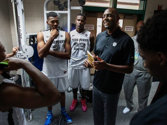 July 17, 2014 - Team Penny head coach Penny Hardaway