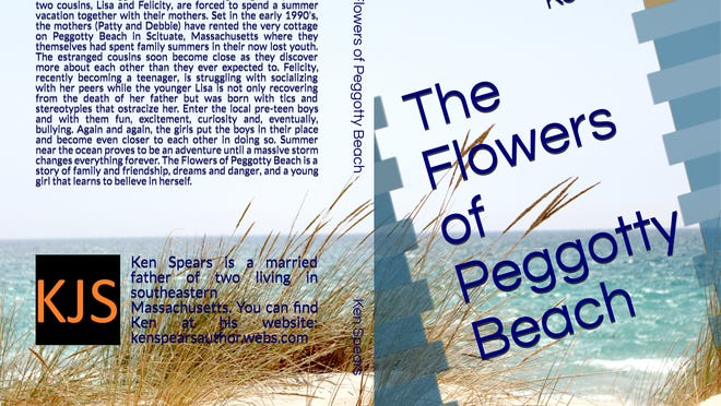"""Stoughton author Ken Spears has released his 16th book, """"The Flowers of Peggotty Beach,"""" that follows two cousins getting to know each other over the course of a summer."""