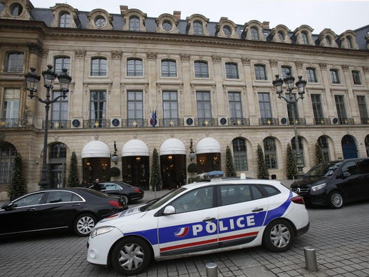 France Ritz Robbery