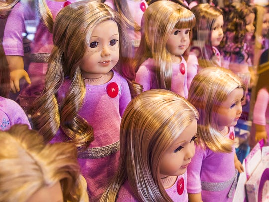 American Girl Dolls come with a variety of hair colors