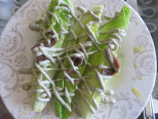 Salads at La Dulce in Royal Oak include Romaine hearts