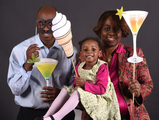 Photo booth fun at the FlipsidePA.com happy hour at