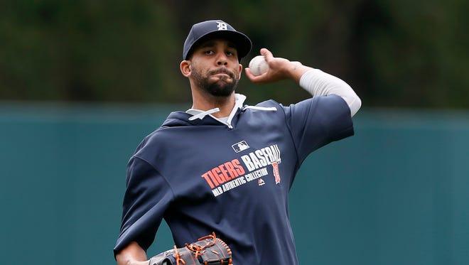 Detroit Tigers pitcher David Price.