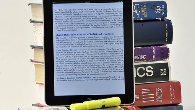 iPad and textbooks
