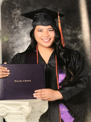 Beverly R. Raposa was issued her license to practice for the Professional Engineers, Land Surveyors, and Geologists on June 5. She is the daughter of Felisa Regalado of Yigo. Beverly is a 2010 graduate of Simon Sanchez High School. She graduated from the University of Portland in 2014 earning a bachelor's degree in electrical engineering and a master's degree in electrical and Computer engineering in 2016 from University of Illinois-Urbana Champaign.