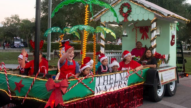 There are almost a dozen holiday parades on land and sea scheduled across the Treasure Coast, including in Indiantown.