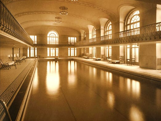 The Detroit Athletic Club natatorium (as they called