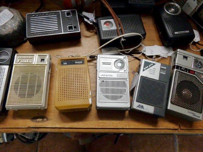 Find an assortment of transistor radios at AZ Man Cave.