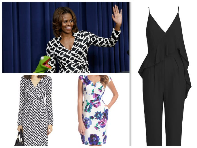 <p>It's no secret that our first lady has embraced all that American designers have to offer. No fan of the bland politico pantsuit, Michelle Obama uses her public <br /> appearances as opportunities to dip into bright colors, eccentric prints, full and flounced hemlines and bold pairings. Her gown is sure to make headlines at the upcoming White House Correspondents' Dinner, which will be hosted by Joel McHale in Washington.USA TODAY's Andrea Mandelltakes a tour of <br /> the first lady's recent must-haves.</p>