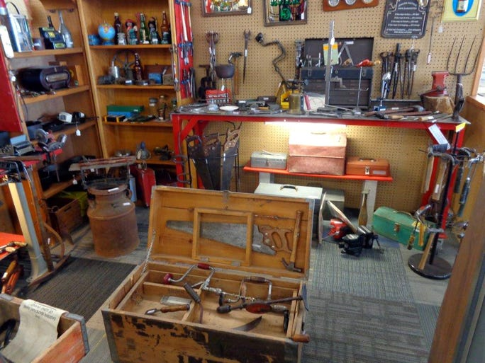 Man Cave Store Az : Photos manly collectibles find an audience