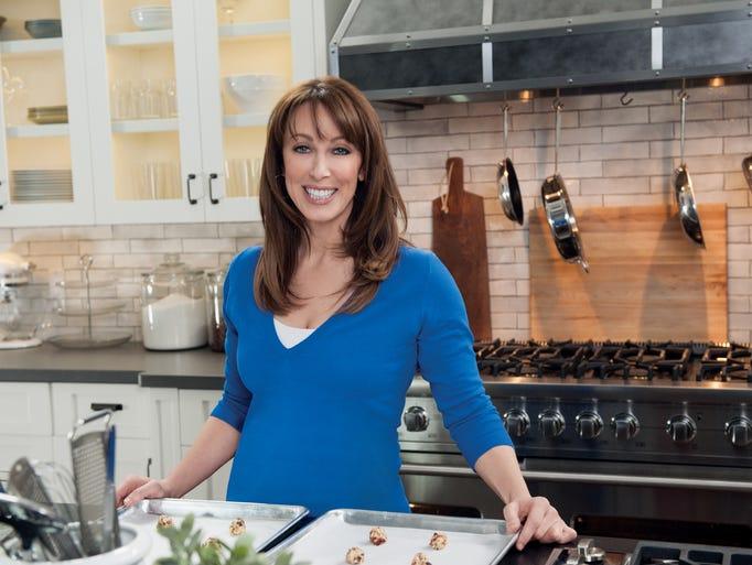 """""""Sweet Julia"""" - Cooking Channel host Julia Baker is"""