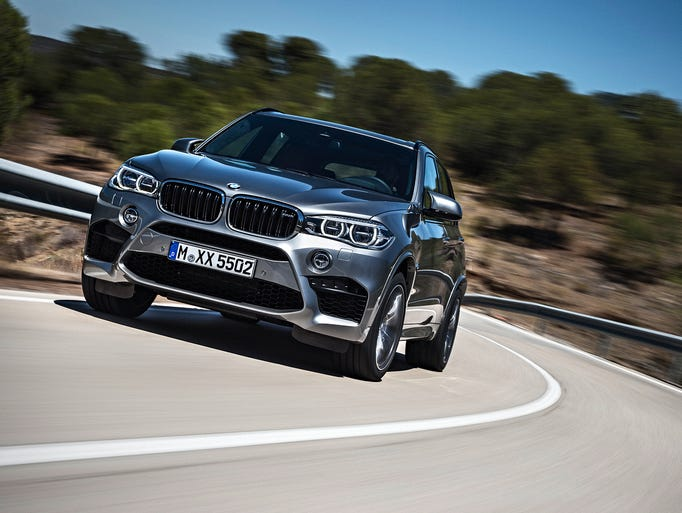 The all-new BMW X5 M combines the renowned presence