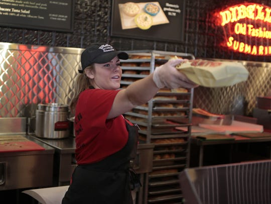 File photo from the East Ave DiBella's in Rochester.