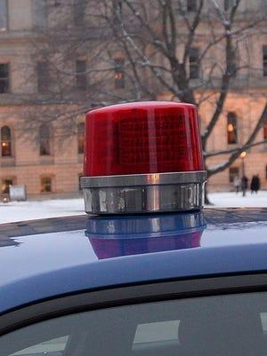 Michigan State Police car.
