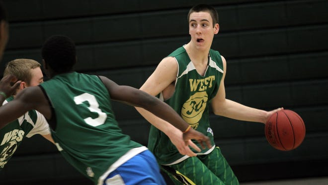 Connor McCaffery has committed to Iowa, where he will play for his father, head coach Fran McCaffery.