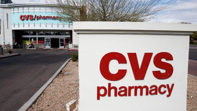 Exterior of a CVS store in Tempe.