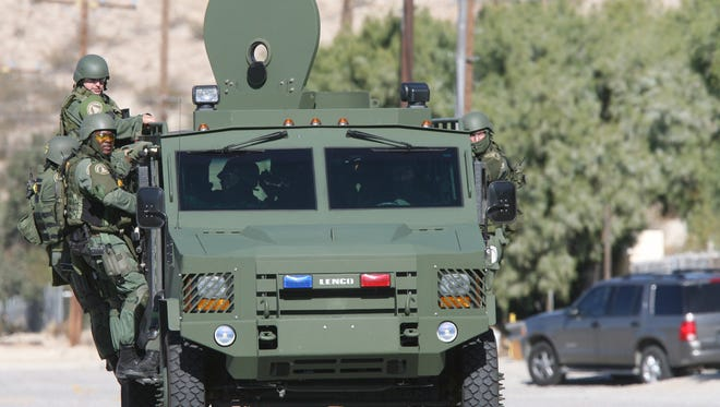 Palm Springs City Council, along with a donation from a local philanthropist, approved a plan to buy a $500K BEAR tactical vehicle for the police department.