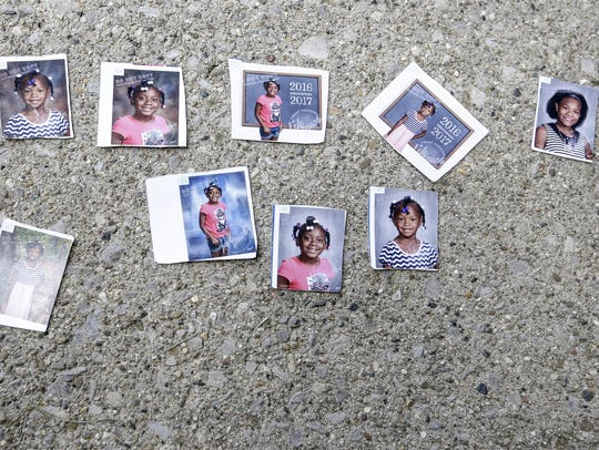 Photos of the four children — Keyana Davis, 11; Keyara