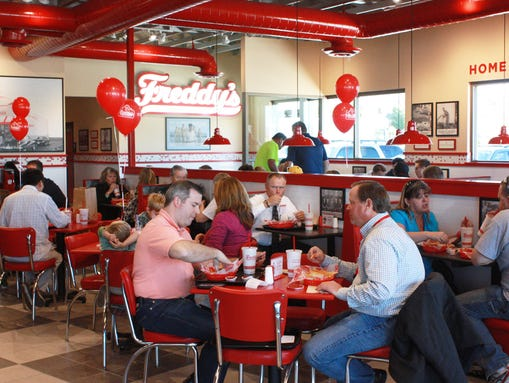 Freddy's Frozen Custard and Steakburgers will be opening