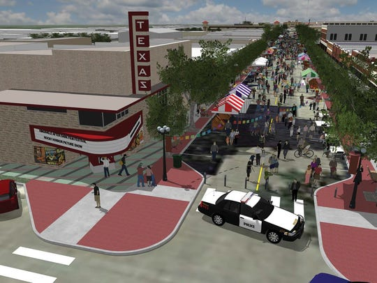 The city of Kingsville unveiled a bold plan to reinvigorate