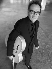 Elvis Costello & the Imposters perform July 23 at the Shelburne Museum.