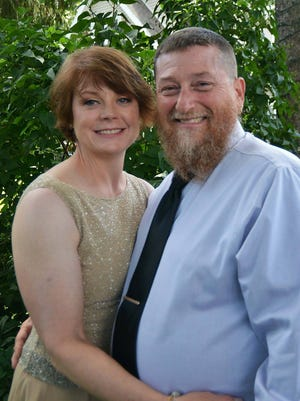 Casey Guilfoyle and long-time boyfriend, Rick Moore at Guilfoyle's sister's June 2017 wedding.