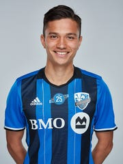 Ken Krolicki was born in Japan and moved to the U.S. at age 14. He played at MSU and is now with the MLS Montreal Impact.