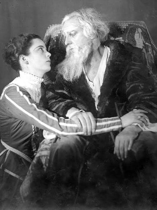 MCHS Mary Crane Hone Robert Atkins King Lear 1922 (002)