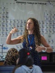 Chemistry teacher Molly Heath at Burlington High School