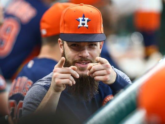 USP MLB: NEW YORK METS AT HOUSTON ASTROS S BBA HOU NYM USA TX