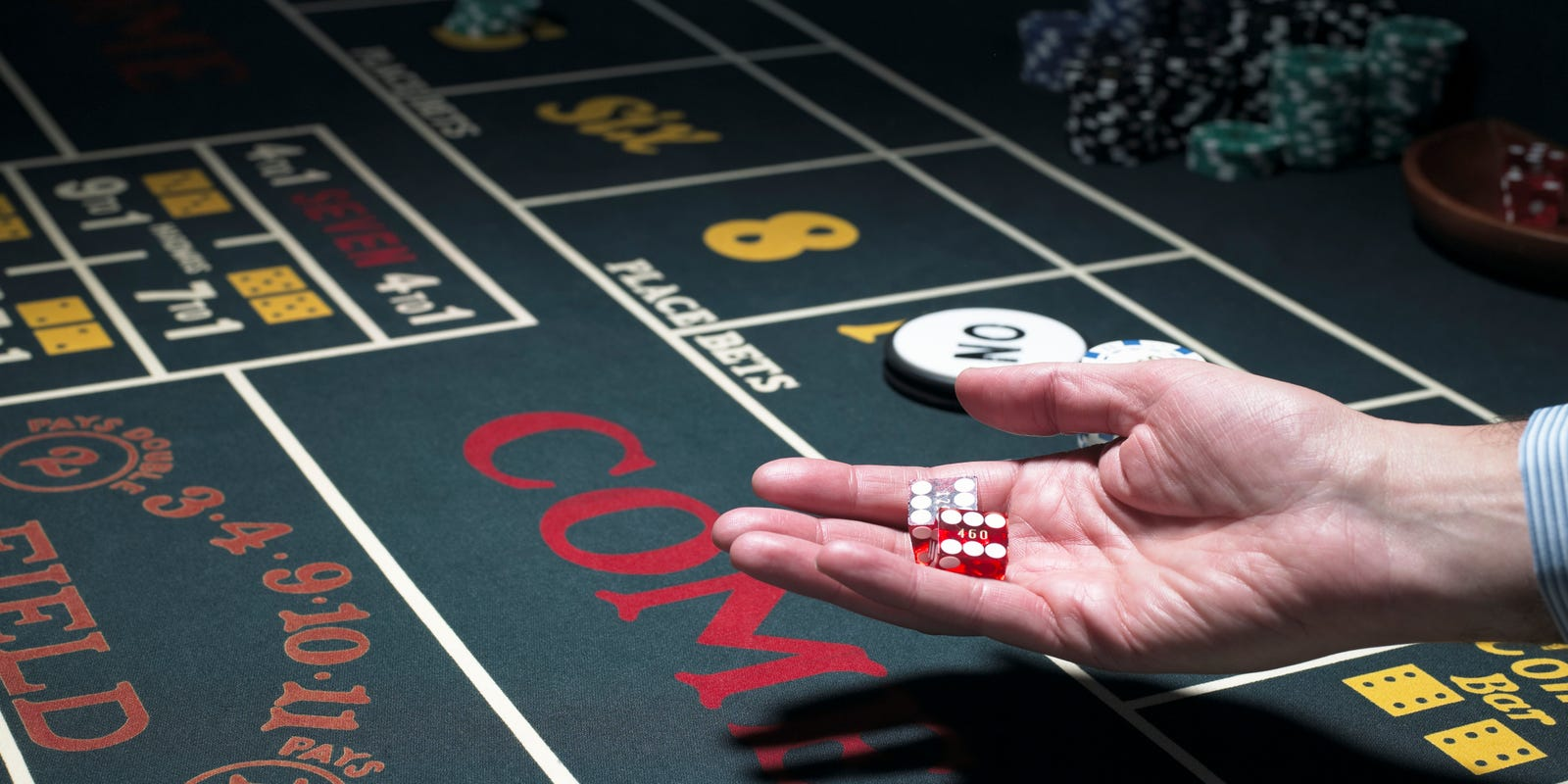 It S Never Wise To Hedge Bets In Craps