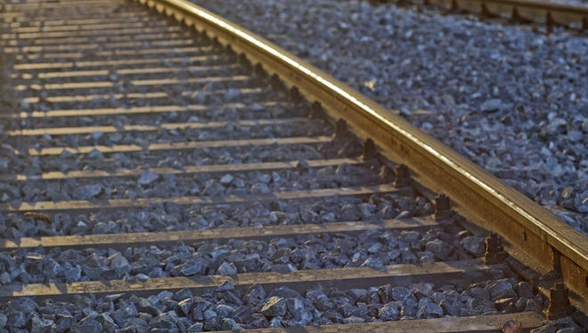 Linn County Sheriff's Office say a 19-year-old man has died after being struck by a train.