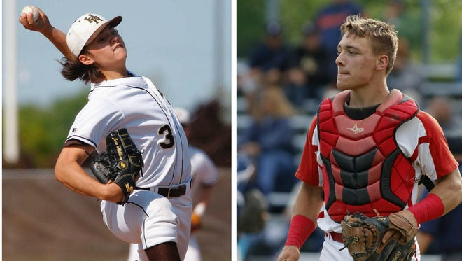 Holt's Jesse Heikkinen and St. Johns' Adam Proctor will soon be Spartans. Tonight, they meet in the Diamond Classic.