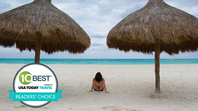 10Best.com and USA TODAY readers have named Cancun the best destination for bikini watching.