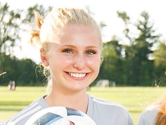 West Salem sophomore Aria Dyson