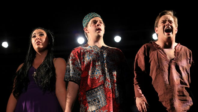 """Hurricane Valley Theatrical Company's production of """"Aida"""" runs through Oct. 29 at the Hurricane Fine Arts Center."""