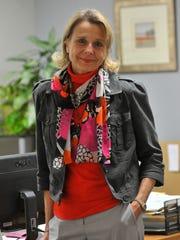 EO Johnson Business Technologies Marketing Director Karen Katz, winner the 2013 ATHENA Leadership Award.