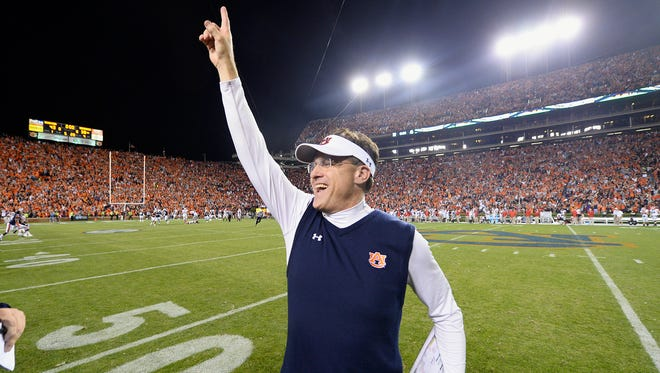 Gus Malzahn's new contract was released on Friday.