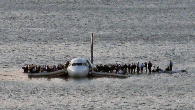 Pilots are trained to land their aircraft even in the face of extreme challenges, such as US Airways 1549 that safely landed in the Hudson River after losing power to both engines.