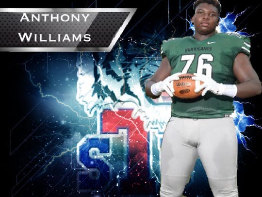 Anthony Williams committed to Tennessee State on Jan.