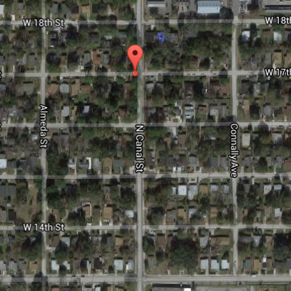 Location of the shooting on W. 17th Street