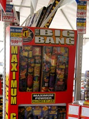 Carlsbad residents preparing for the Fourth of July holiday have their choice of fireworks at a local stand.