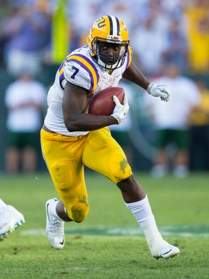 LSU RB Leonard Fournette (7) is widely regarded as the draft's top back.