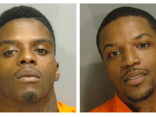 Jeremie Wright, 22, and Amos Parks, 23, have been charged with murder. Montgomery police originally announced Wright's arrest early Monday evening, while news of Amos turning himself in came several hours later.