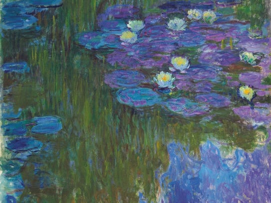 "Monet's ""Nympheas."" The work will be included in an"