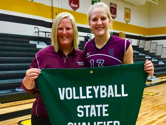 Western Christian coach Tammi Veerbeek and daughter