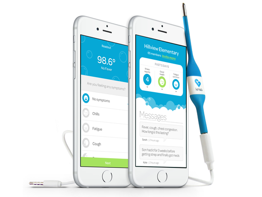 Kinsa is making its thermometers available to U.S.