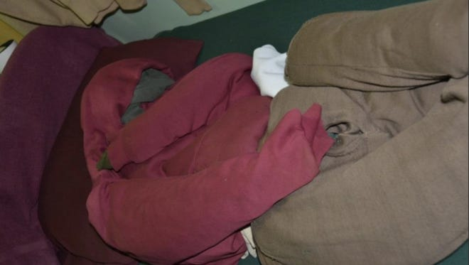 Here's a photo of a dummy used by David Sweat, one of the escapees at Dannemora, to fool guards in his cell